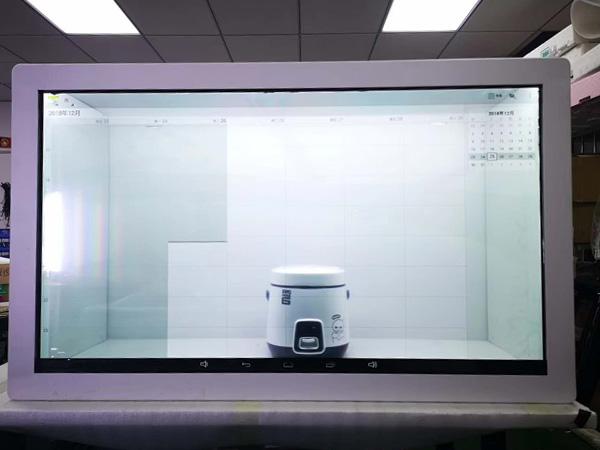 透明液晶展示柜