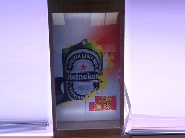 透明液晶展示